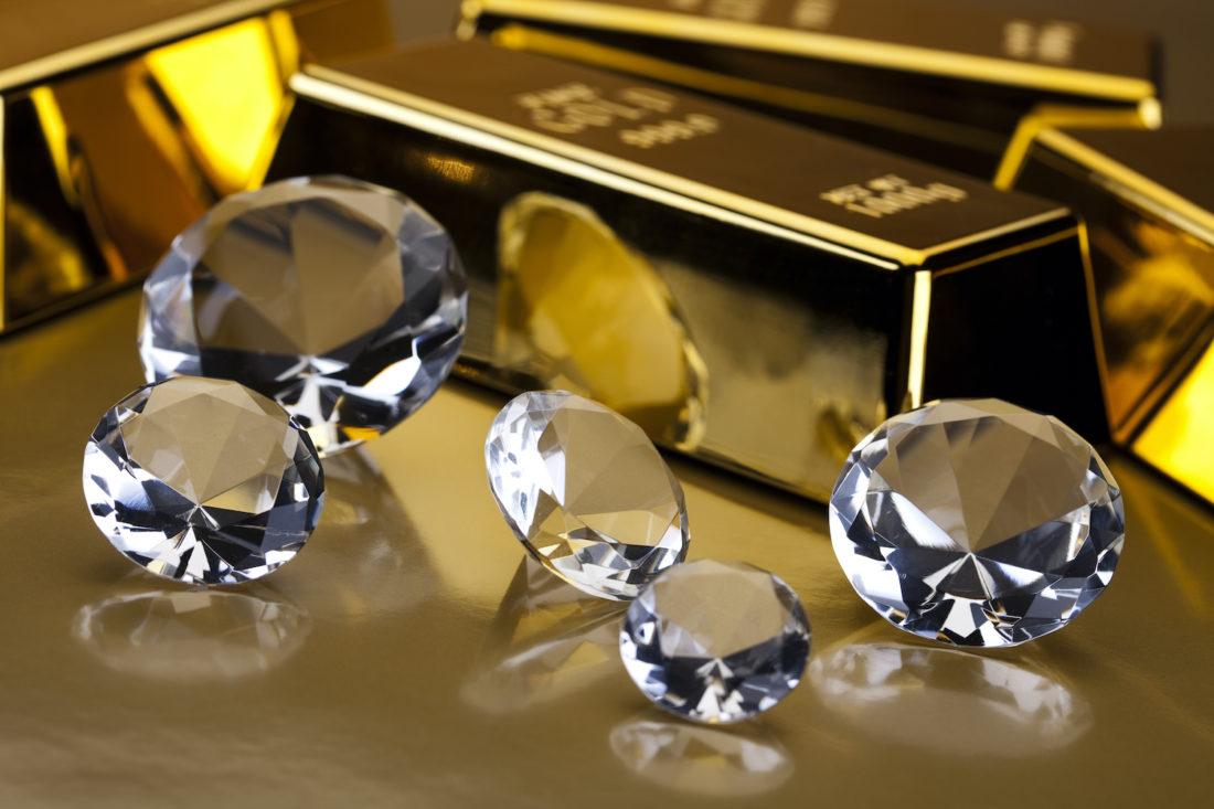 Gold, Silber, Diamanten kaufen