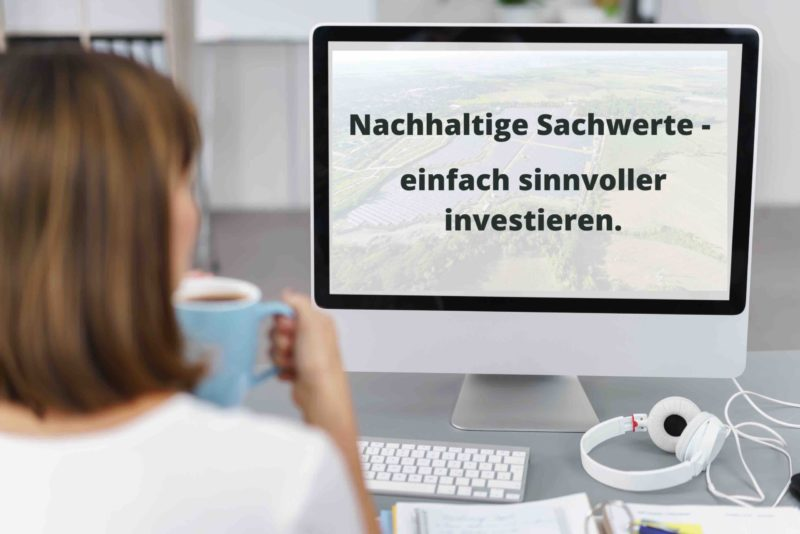 Webinar Nachhaltige Sachwerte